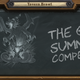 "Tavern Brawl 4. Hafta ""The Great Summoner Competition"""