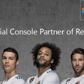 XBOX Real Madrid'in Resmi Konsol Partneri Oldu