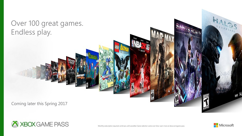 Xbos Game Pass Türkiye'de!