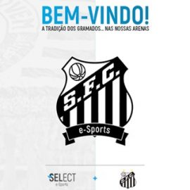Santos F.C. League of Legends Sahnesinde