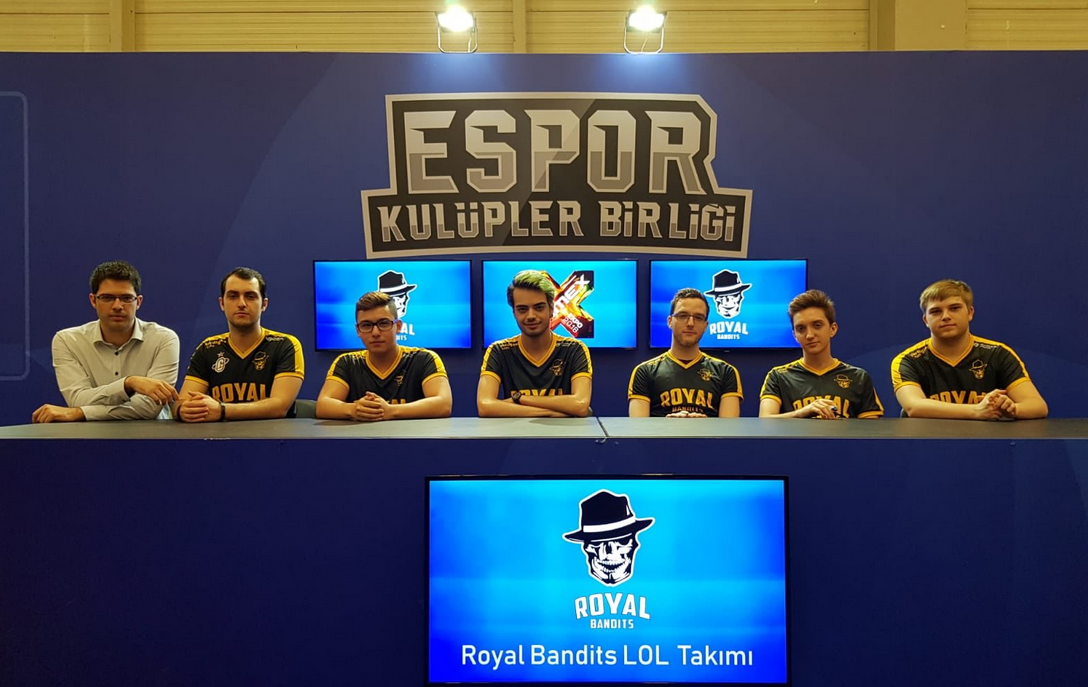 GameX 2018 - Royal Bandits